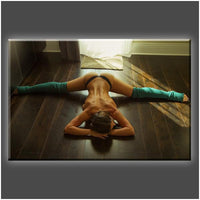 """Morning Stretch"" Stretched Canvas Print (Various Sizes)"
