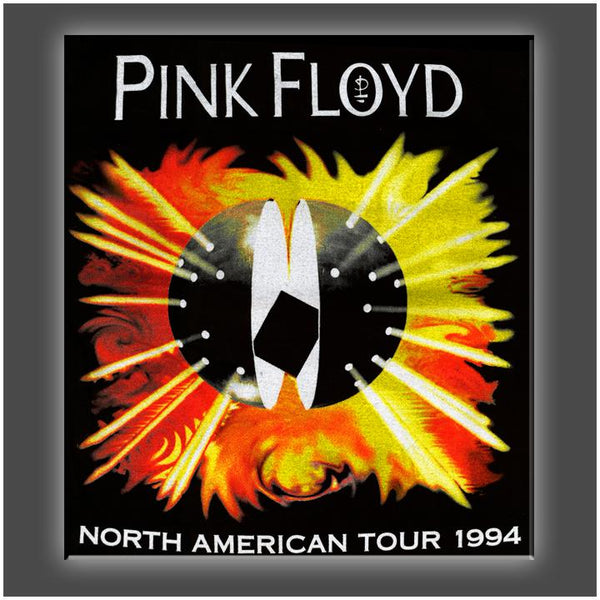 """Pink Floyd 1994"" Stretched Canvas Print (Various Sizes)"