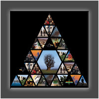 """Pink Floyd Pyramid"" Stretched Canvas Print (Various Sizes)"