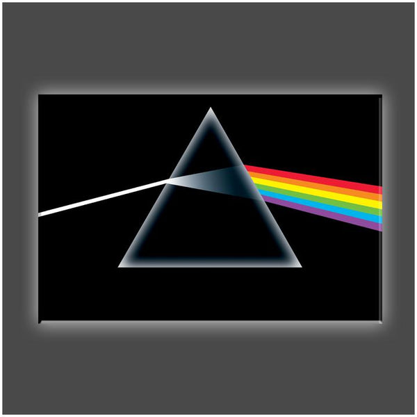 """Dark Side"" Stretched Canvas Print (Various Sizes)"