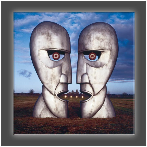 """Metal Heads"" Stretched Canvas Print (Various Sizes)"
