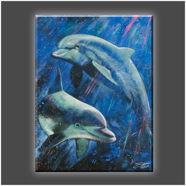"""A Life Aquatic"" Stretched Canvas Print (Various Sizes)"