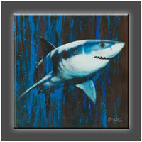 """Silent Killer"" Stretched Canvas Print (Various Sizes)"