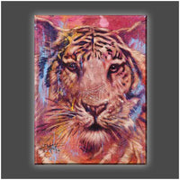 """Hidden Eyes"" Stretched Canvas Print (Various Sizes)"