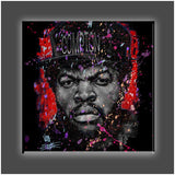 """Straight Outta Red"" Stretched Canvas Print (Various Sizes)"