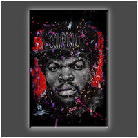 """Straight Outta"" Stretched Canvas Print (Various Sizes)"