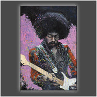 """JIMI"" Stretched Canvas Print (Various Sizes)"