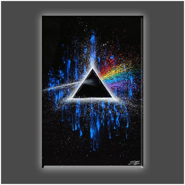 """Dark Side of the Moon"" Stretched Canvas Print (Various Sizes)"