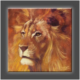 """Lion"" Stretched Canvas Print (Various Sizes)"