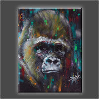 """Albert"" Stretched Canvas Print (Various Sizes)"