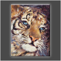 """Cub"" Stretched Canvas Print (Various Sizes)"