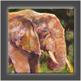 """Elephant"" Stretched Canvas Print (Various Sizes)"