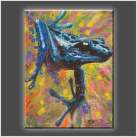 """Blue Dart"" Stretched Canvas Print (Various Sizes)"