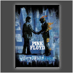 """Wish You Were Here BLK"" Stretched Canvas Print (Various Sizes)"