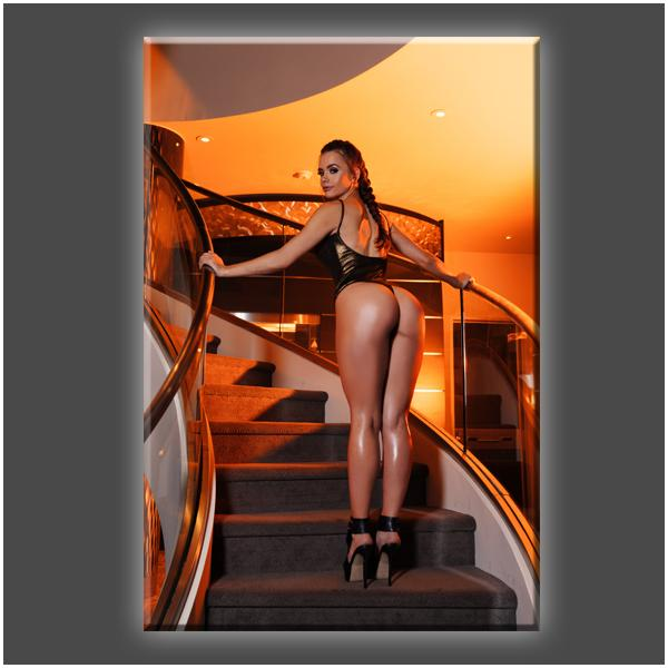"""Stairway to Heaven (PT1)"" Stretched Canvas Print (Various Sizes)"