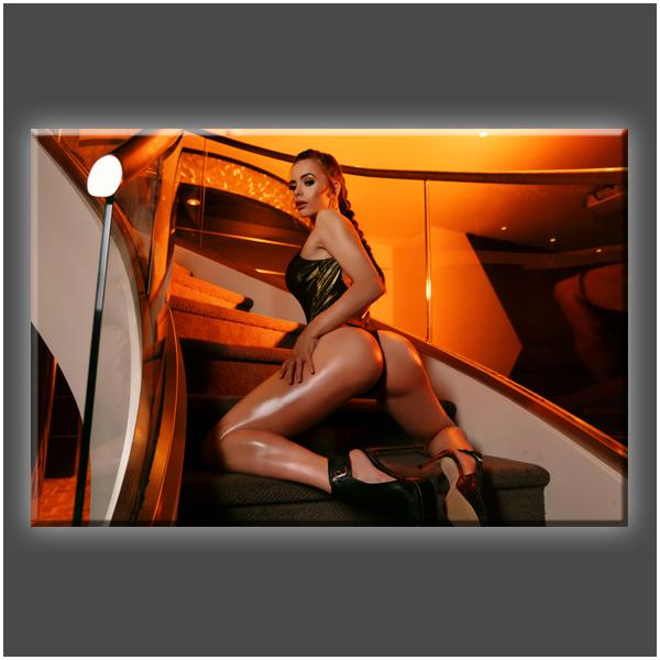"""Stairway to Heaven (PT2)"" Stretched Canvas Print (Various Sizes)"