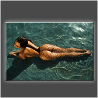 """Sunbathing"" Stretched Canvas Print (Various Sizes)"