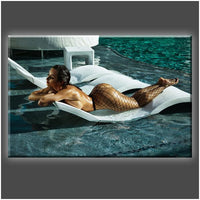 """Tanlines"" Stretched Canvas Print (Various Sizes)"