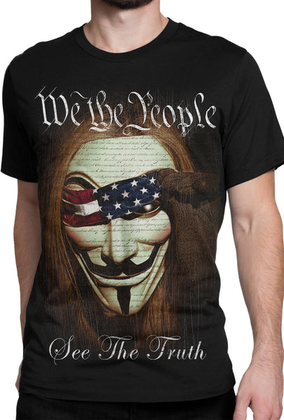 """We The People"" T-shirt DBA14"