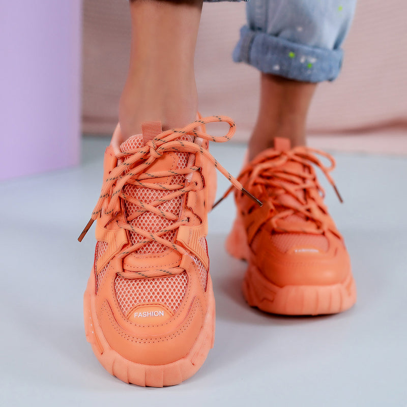 Pantofi sport Kate - Orange