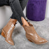 Botine dama Silke - Brown