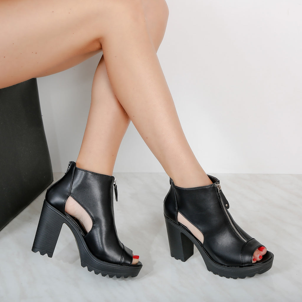 Botine dama Amy - Black