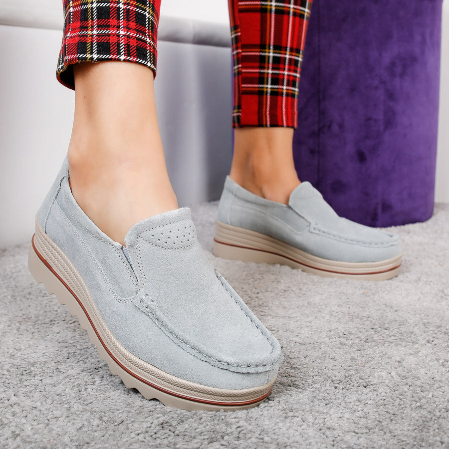 Mocasini dama Calliope - Light Blue