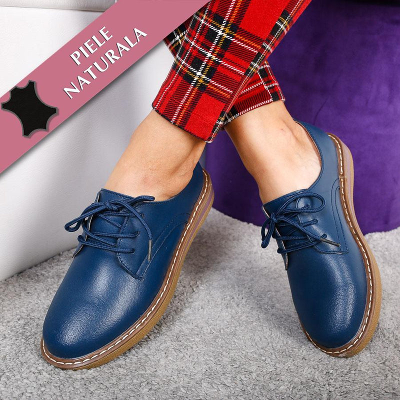 Mocasini dama Hailey - Navy