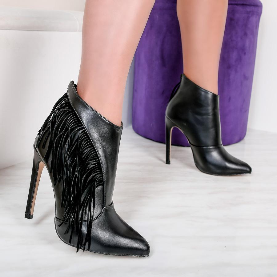 Botine dama Eberly - Black