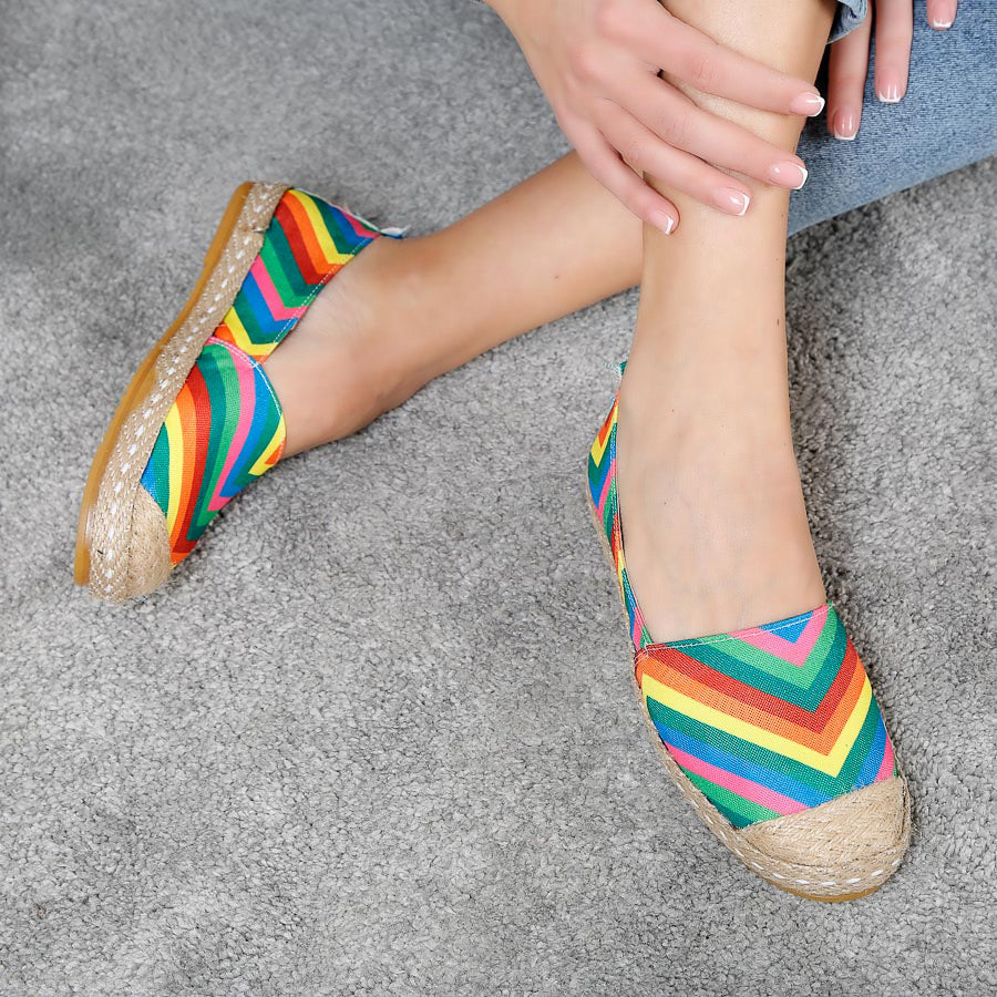 Espadrile dama Naomi - Colorful