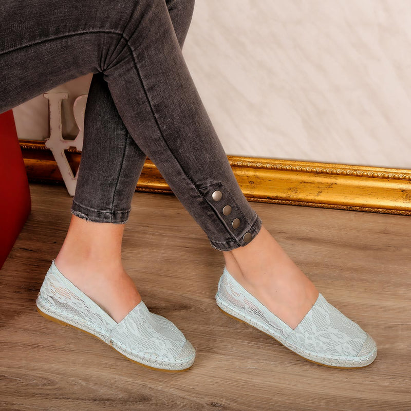 Espadrile dama Dakota - Blue