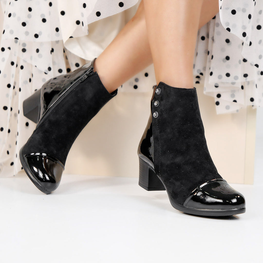 Botine dama Brooke - Black