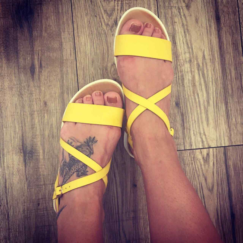 Sandale dama Swift - Yellow