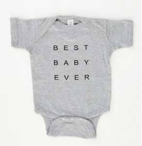 Good hYOUman ONESIES-BEST BABY EVER