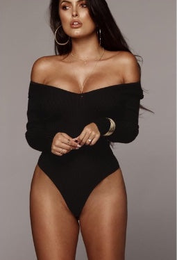 JLUX DANIELLA RIBBED SWEATER BODYSUIT