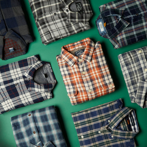 Double-Cloth: Flannels for guys who hate flannels