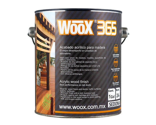 WOOX 365 MIEL NATURAL 1 GALON