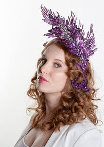 Devana Ultraviolet Headdress