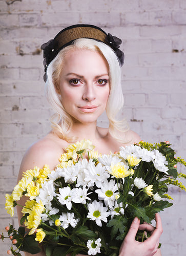 Flower Basket Crown