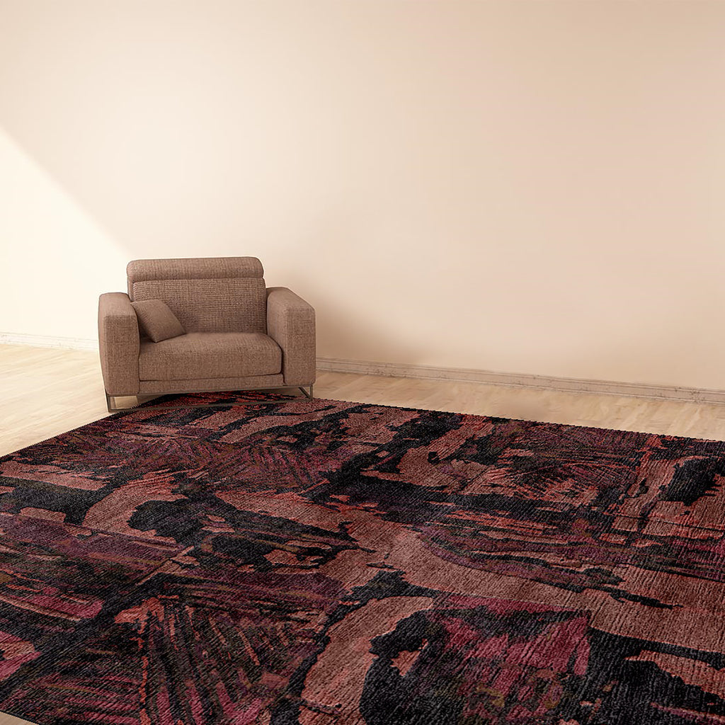ACID-BLUEBERRY-CARPET-8X10-WOOL-AND-SILK-AREA-RUG