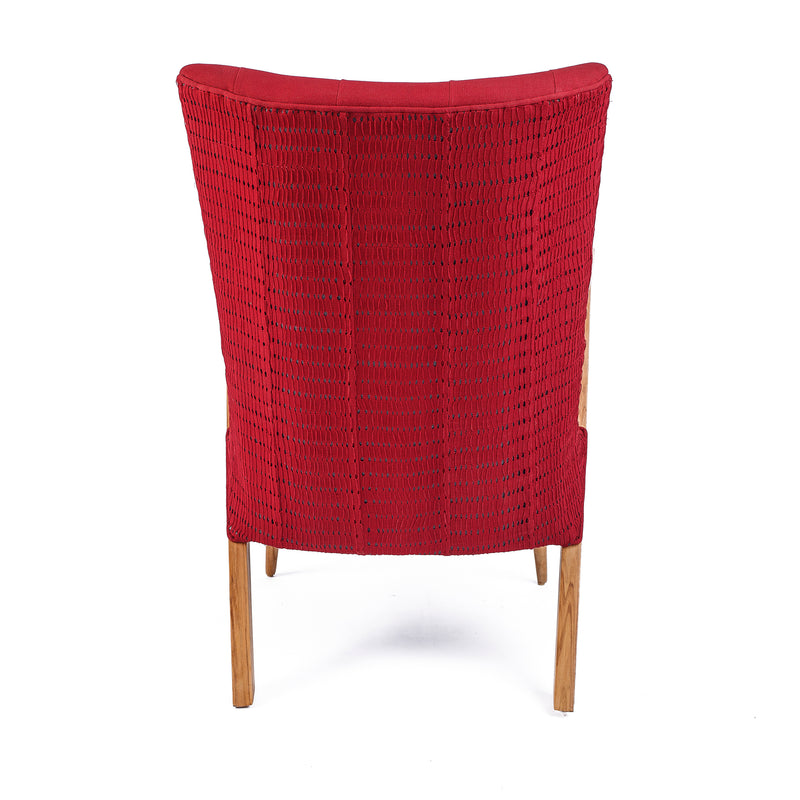 ADUNNI-CHAIR-PUPA-RED-CONTEMPORARY-MODERN-AFRICAN-HOME-DECOR