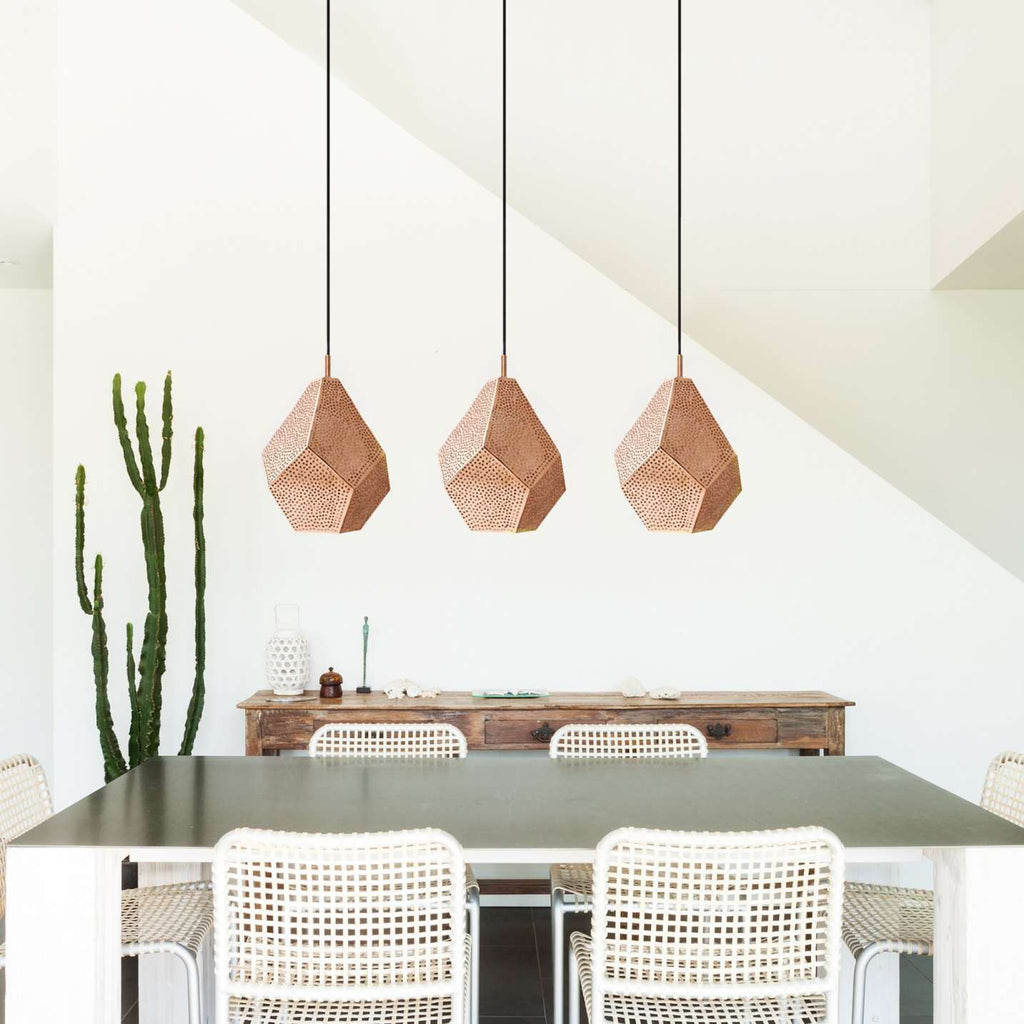 Almas Pendant Lighting Medium - Copper