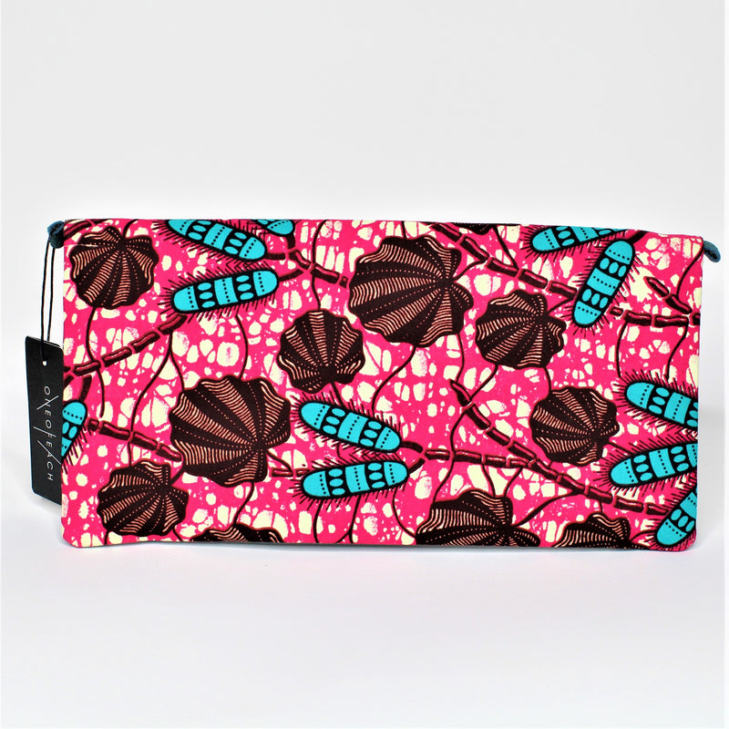 ANKARA-CLUTCH-PINK-PURSE-LEATHER-HANDBAG