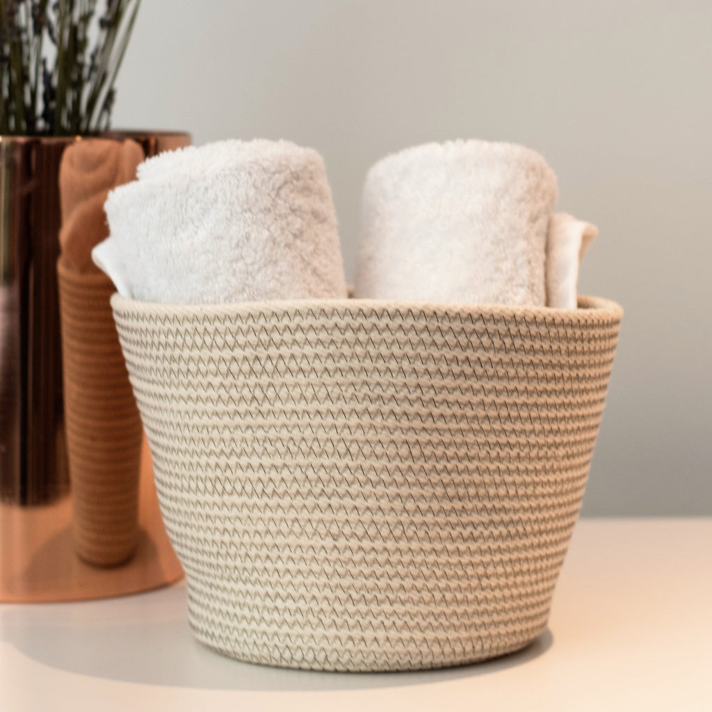 Coiled-Cotton-Bowl-Medium-Grey-Stitch-Rope-Basket