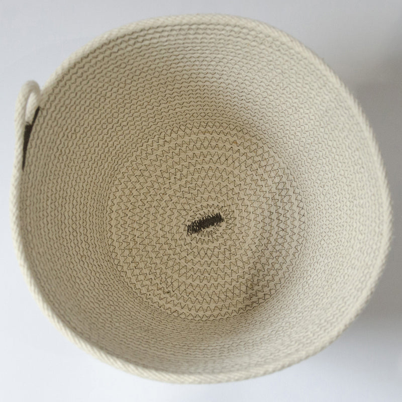 Coiled-Cotton-Bowl-Medium-Grey-Stitch-Unique-Storage-Basket