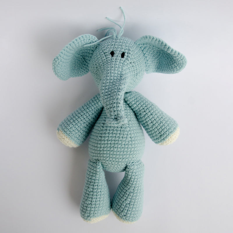 HAND-CROCHETED-STUFFED-TOY-NDLOVU-ELEPHANT-BLUE-STUFFED-ANIMALS