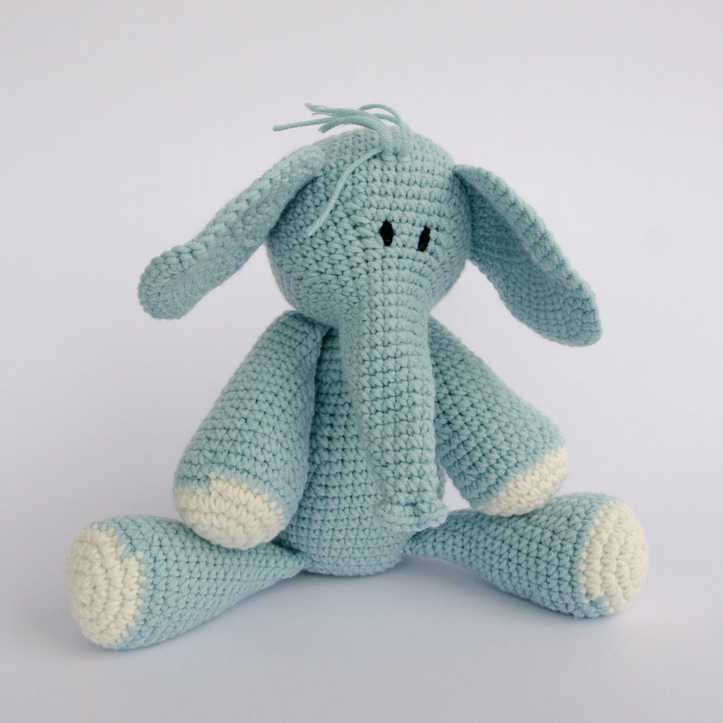 HAND-CROCHETED-STUFFED-TOY-NDLOVU-ELEPHANT-BLUE