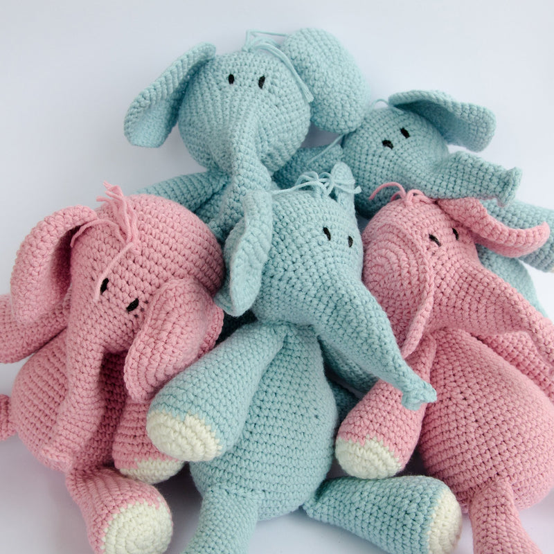 HAND-CROCHETED-STUFFED-TOY-NDLOVU-ELEPHANT-BLUE-STUFFED-ANIMALS-PLUSH-TOYS