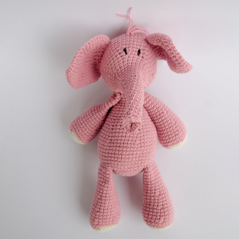 HAND-CROCHETED-STUFFED-TOY-NDLOVU-ELEPHANT-PINK-STUFFED-ANIMALS