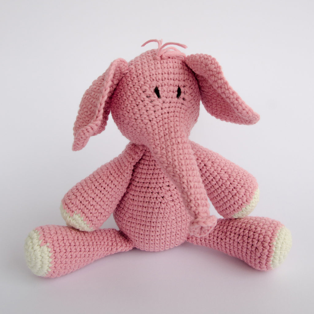 HAND-CROCHETED-STUFFED-TOY-NDLOVU-ELEPHANT-PINK